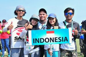 Perwakilan Indonesia di 1st  FAI Asian via @dishafajar